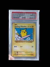 2016 Pokemon XY Evolutions Surfing Pikachu PSA 10