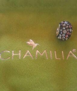 brand new chamilia kaleidoscope Pink And Black Swarovski 2025-0753