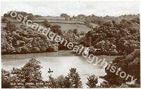 River Dart Postcard, Old Mill Creek, Valentine & Sons Ltd