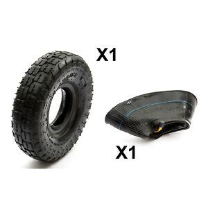 Petrolscooter Knobbly Tyre + Innertube Size 4.10 / 3.50-4 / 410x4 / 350x4