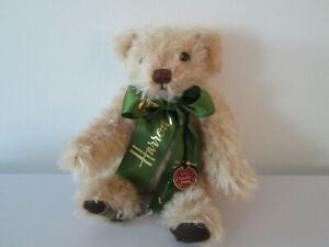 """RARE VERY 1st No 1 of 500 LIMITED EDITION MERRYTHOUGHT HARRODS TEDDY BEAR 9.75"""""""