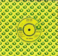"""THE BANNED little girl/c.p.g.j.'s HAR 5145 uk harvest 1977 7"""" CS EX/EX-"""