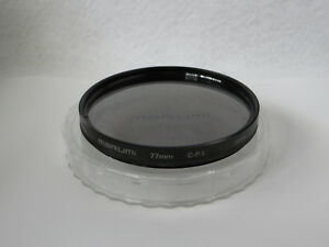 **NEAR MINT** MARUMI 72mm C-P.L Filter with Case From Japan #391