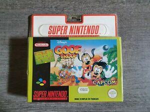 Jeu Super Nintendo SNES - Goof Troop - Neuf sous blister rigide !