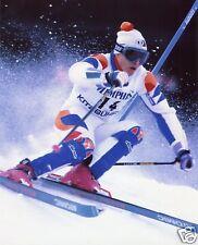 MARC GIRARDELLI AUSTRIAN DOWNHILL SKIING 8X10 SPORT PHOTO (BB)