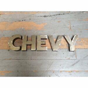 CHEVY Garage Sign mancave chevolete nova camaro corvette c10 sbc impala tri 5
