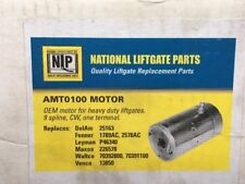 National Liftgate Parts (NLP) AMT0100, MOTOR 9 SPLINE  ONE TERMINAL CW