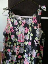 H&M GIRLS  FLOWERED JUMP DRESS