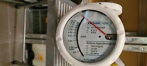 Krohne H250/C/M40R/HT/ESK-Ex Sodium hypochloride flowmeter
