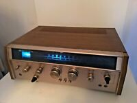 AKAI AA-910 Vintage Stereo Receiver - Excellent Condition - Powers Up