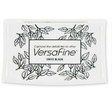 VERSAFINE TSUKINEKO FINE DETAIL PIGMENT INK PAD FOR RUBBER STAMP FAST DRYING