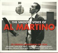 THE SMOOTH VOICE OF AL MARTINO - 2 CD BOX SET - HERE IN MY HEART, WANTED & MORE