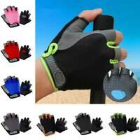 Half Finger Breathable Bike Gloves Anti Skid Gel Padded Sport Cycling Gloves US