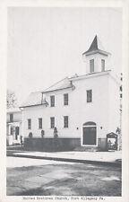 Port Allegany PA * United Brethren Church  ca 1950 * McKean Co.