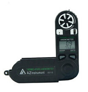AZ8918 Mini Pocket Type Windspeed Meter Thermo-Hydro- Anemometer Meter AZ-8918