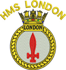 Embroidered HMS London Sweatshirts