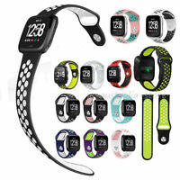 Sport Silicone Replace Wrist Band Smart Watch Strap Bracelet For Fitbit Versa