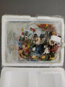 "Disney Seasons of Friendship ""Autumn Joy"" Collectors Plate Bradford Exchange"