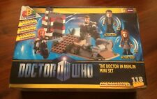 NEW! DR WHO Character Building DOCTOR IN BERLIN Mini Construction Set