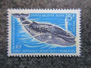 TAAF timbre N° 22 BALEINE BLEUE neuf ** cote 31 euros en TBE lot DX198