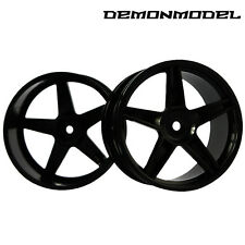 2pcs Front Wheel TIRE TYRE Rim HSP HPI 1/10 RC Off Road 94106 Buggy  26mm width
