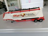 Vintage Matchbox Superkings K3 Grain Transporter 1979 Trailer Only Kellogs