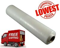 1 X STRONG ROLL-CLEAR PALLET STRETCH SHRINK WRAP CAST PARCEL PACKING CLING FILM