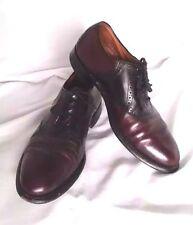Bostonian Men's Leather Dress Shoes Size 8.5 E/C OxfordsTwo Tone Laced Classic