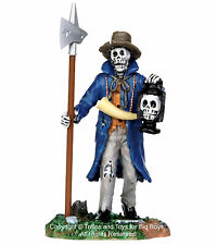 Lemax 32108 CREEPY NIGHT WATCHMAN Spooky Town Figure Halloween Decor Figurine I