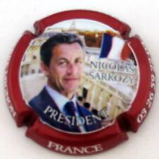 MIGNON  PIERRE  N°073k   Cuvée SARKOZY avec drapeau bleu blanc rouge , Ctr ROUGE