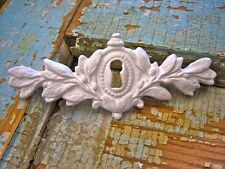 SHABBY & CHIC ARCHITECTURAL ANTIQUE KEYHOLE FURNITURE APPLIQUES
