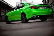 Vvivid 50 x 5ft Lime Green Gloss Vinyl Car Wrap
