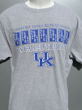 Uk Kentucky Basketball history does repeat It'S Called Tradition t shirt sz Larg