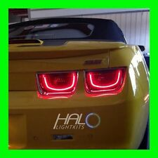 2010-2013 ORACLE CHEVY CAMARO AFTER BURNER RECTANGLE LED 2.0 TAIL LIGHT HALO KIT