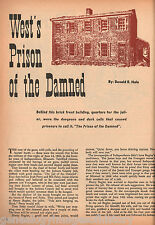 The West's Prison Of The Damned - Jackson County Jail