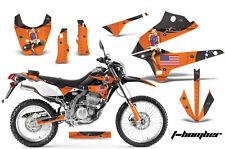 Dirt Bike Decals Graphics Kit Sticker Wrap For Kawasaki KLX250 2008-2018 TBOMB O