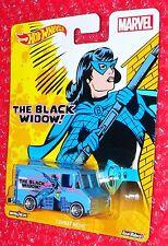 Hot Wheels MARVEL BLACK WIDOW  Combat Medic   Real Riders DJG87-4B10