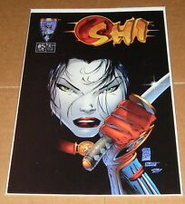 1994 Shi Way of the Warrior #5 Marc Silvestri Variant Edition 1st Print Tucci