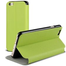 Carcasa Funda Folio Soporte para iPhone 6 Plus 5.5 Delgado Cierre Inteligente