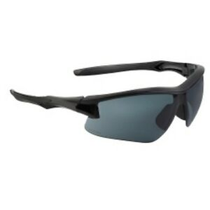 Uvex S4161XP Acadia Eyewear - Safety Glasses, Black with Gray Shades
