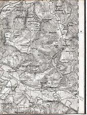 Burgkunstadt Mainroth 1910 kl. orig. Teilkarte/Ln. TK50 Theisau Burkersdorf Hain