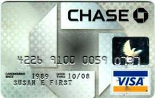 Chase MasterCard Credit Card [Exp 2008]