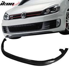 10-14 Volkswagen GTI 6 MK6 MKVI E Style Front Bumper Lip Spoiler - Carbon Fiber