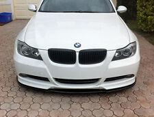 BMW 3-Series E90 E91 Euro Front Bumper Spoiler Lip Chin Valance Splitter Corners