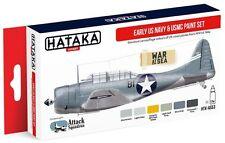 Hataka Hobby AS53 Early USN & USMC 1919-1942 Camouflage Paint Set