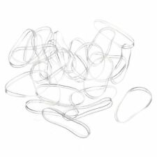 300pcs Transparent Elastic Rubber band for Hair Woman Girl Gift LW