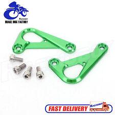 Rear Subframe Racing Hook Tie Down For Kawasaki Ninja ZX6R ZX636 2013 2016 Green