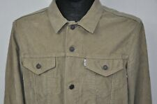 Levis Corduroy Trucker Mens Jacket   Large