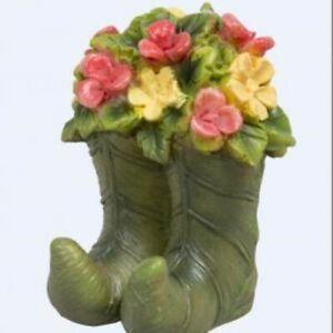 Vivid Arts Miniature World - Flower Boots *REDUCED!!!!