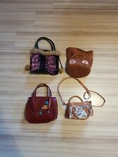 Konvolut 4 tolle mini Handtaschen für Damen gebraucht aber guter Zustand